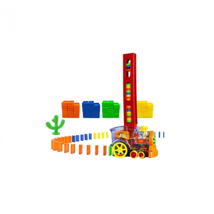 Set interactiv Trenulet Domino [5]