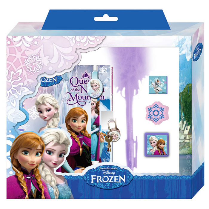 Set Jurnal si Pix Frozen 2