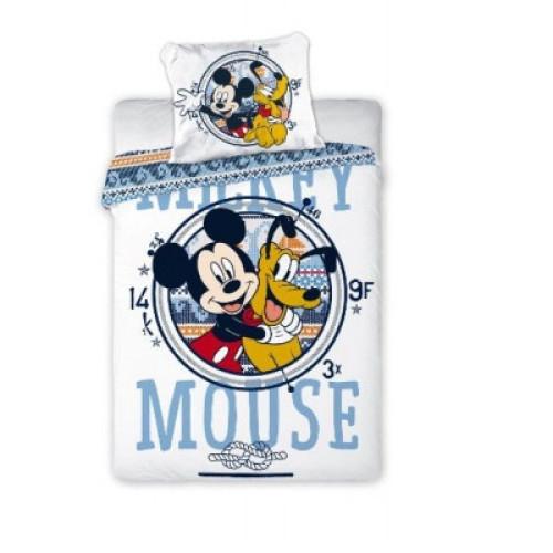 Set lenjerie pat copii Mickey Mouse si Pluto 100x135 + 40x60 0
