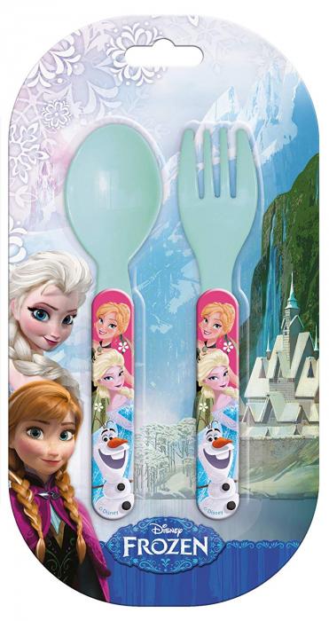 Set mic dejun 2 tacamuri plastic Frozen 1