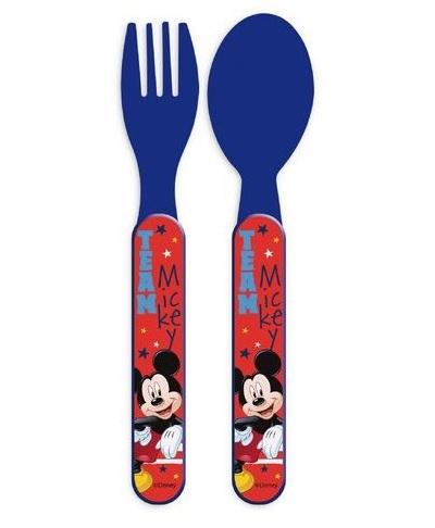 Set mic dejun 2 tacamuri plastic Mickey Mouse 0