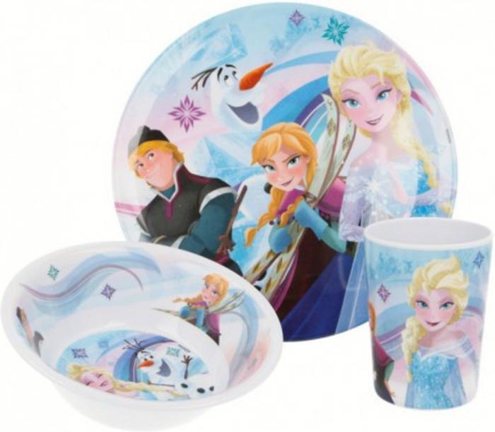 Set mic dejun model Frozen, melamina 1