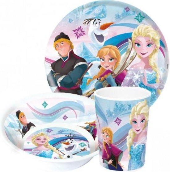Set mic dejun model Frozen, melamina 0