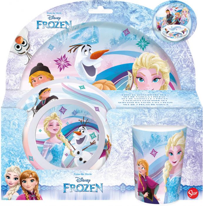 Set mic dejun model Frozen, melamina 2