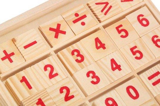 Set Numere cu socotitoare de lemn 3