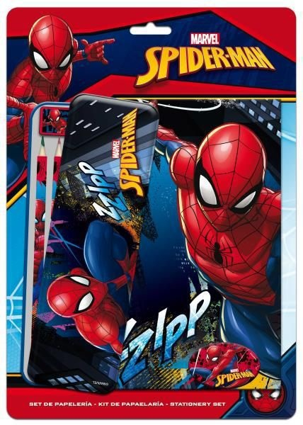 Set papetarie Spiderman +penar metalic [0]