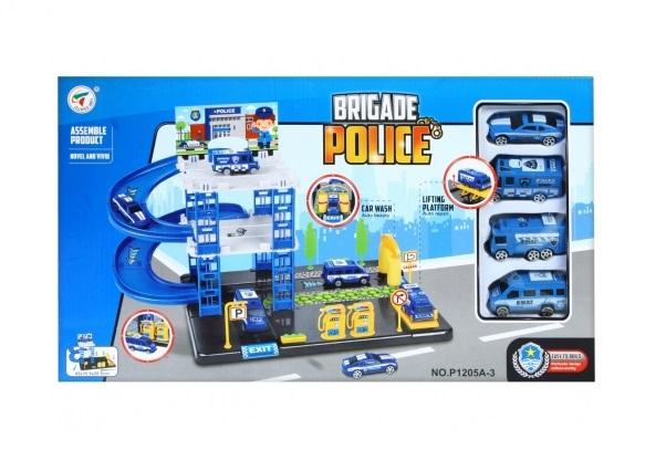 Set parcare si accesorii Statie Politie 47X27X6 cm 0