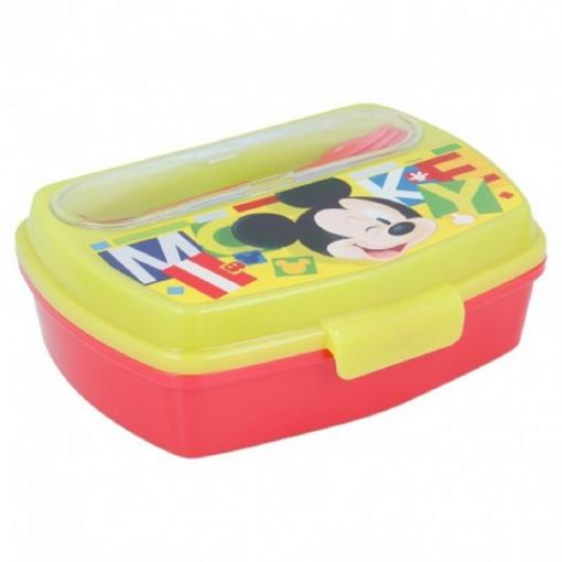 Set pranz Mickey Mouse,cutie sandwich+tacamuri [2]