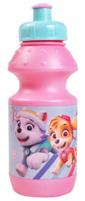 Set pranz Paw Patrol geanta + cutie + sticla plastic 400 ml roz 4