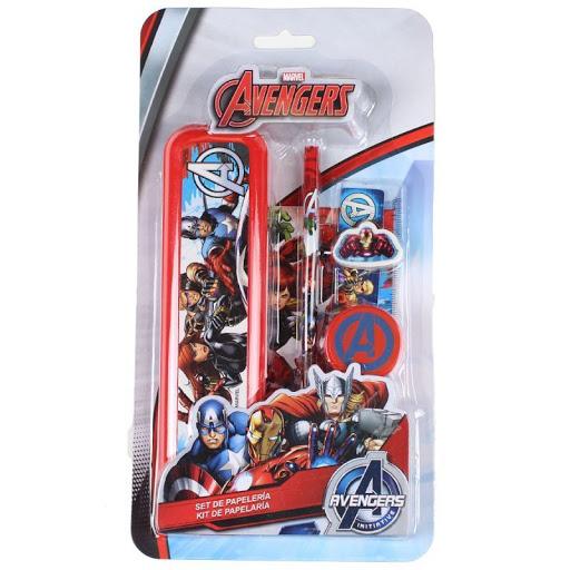 Set rechizite Avengers, 5 piese 0