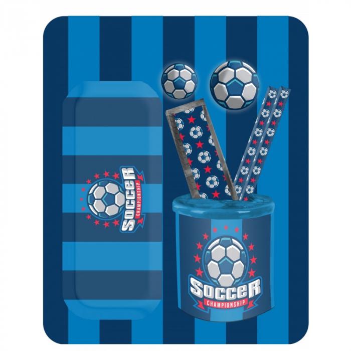 Set rechizite Paso Soccer 7 piese [0]