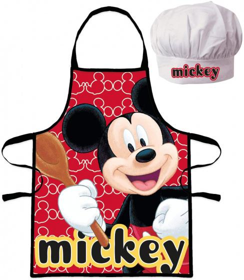 Set sort Mickey Mouse si boneta de bucatar [0]