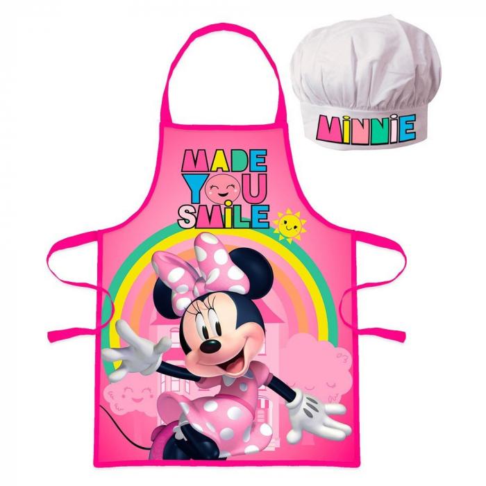 Set sort si boneta de bucatar Minnie Mouse Smile [0]