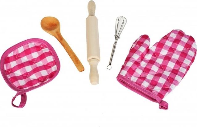 Set sort cu boneta pentru gatit cu 5 accesorii [7]