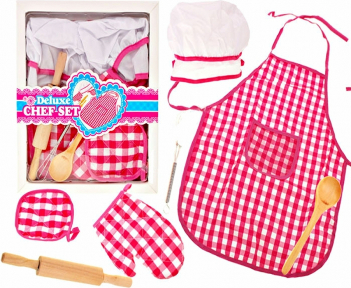 Set sort cu boneta pentru gatit cu 5 accesorii [4]