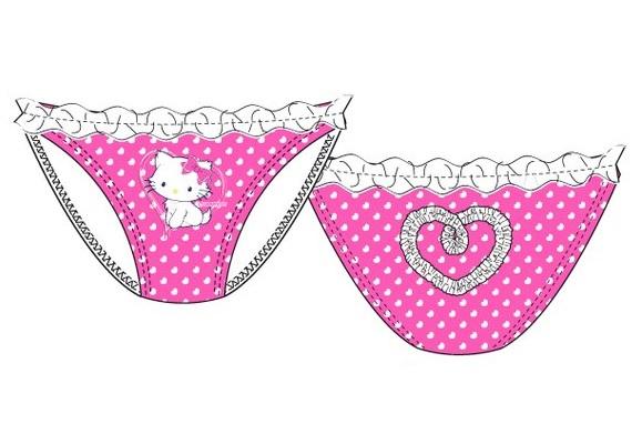 Slip baie Hello Kitty ciclam 5 ani,110 cm 0