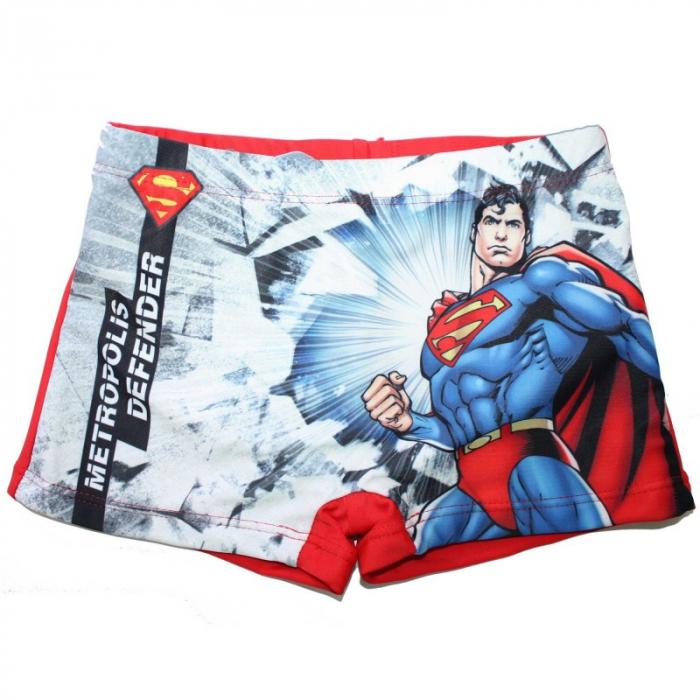 Slip boxeri baie Superman, rosu, 6 ani,116 cm 0