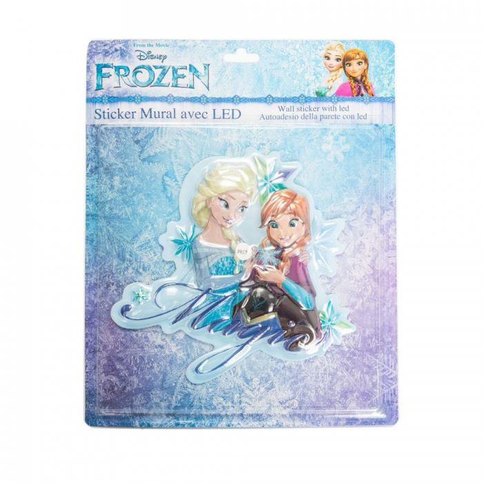 Sticker de perete cu led Frozen Magic, SunCity 2