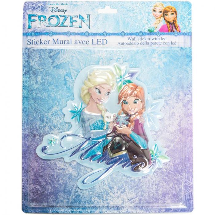 Sticker de perete cu led Frozen Magic, SunCity 1