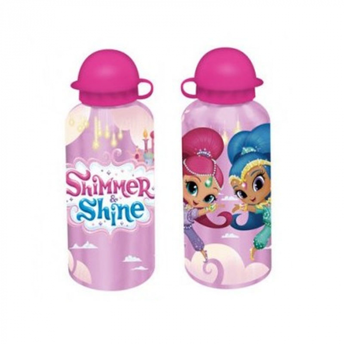 Sticla aluminiu Shimmer Shine 500 ml roz 0