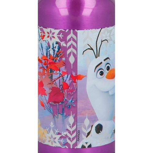 Sticla apa Frozen aluminiu mov 400 ml 2