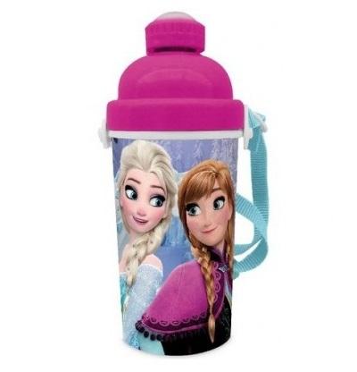 Sticla apa Frozen cu buton 400 ml [0]