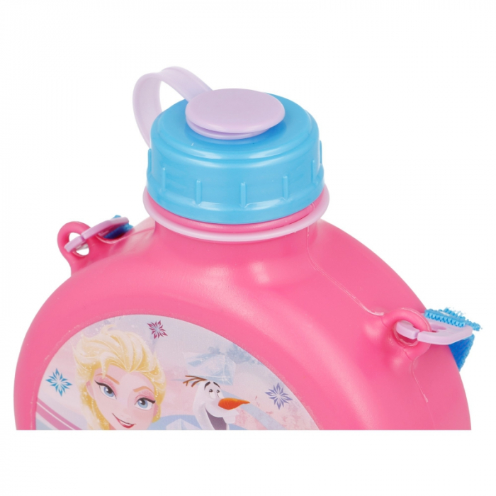 Sticla apa Frozen roz 670 ml 2