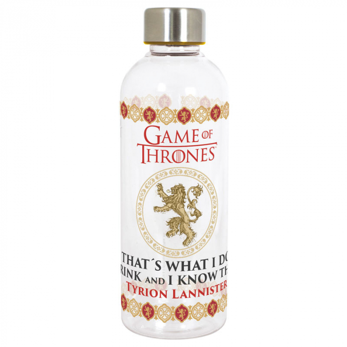 Sticla apa plastic Games of Thrones 850 ml 0
