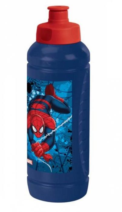 Sticla plastic pentru apa Spiderman 500 ml 0