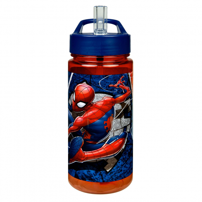 Sticla plastic pentru apa, Spiderman 0