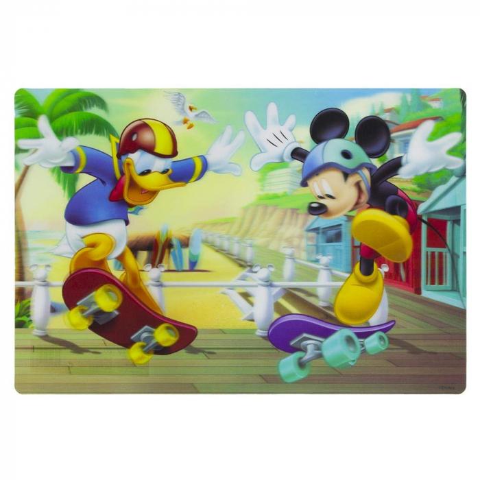 Suport farfurie pentru servit masa Mickey Mouse 3D 45x30 cm 1