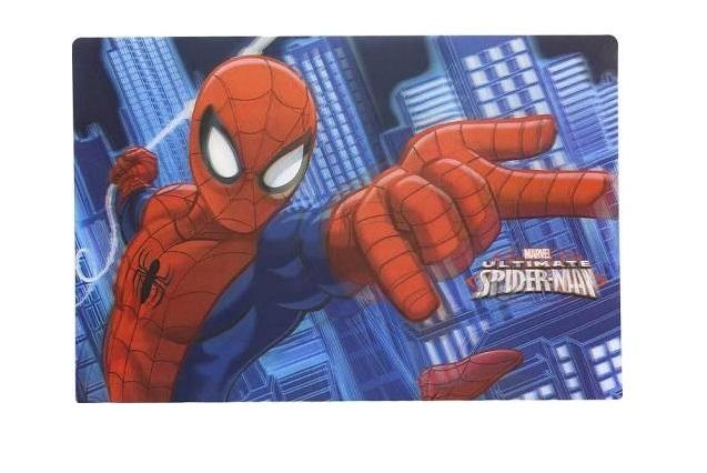 Suport farfurie pentru servit masa Spiderman 3D 45x30 cm 0