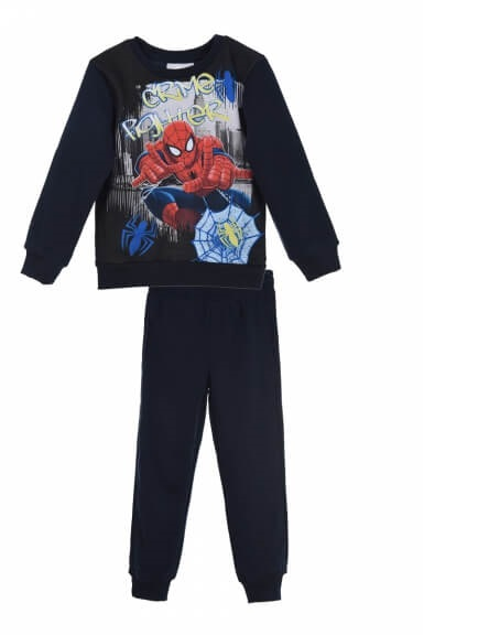 Trening Spiderman vatuit bleumarin ,6 ani, 116 cm 0