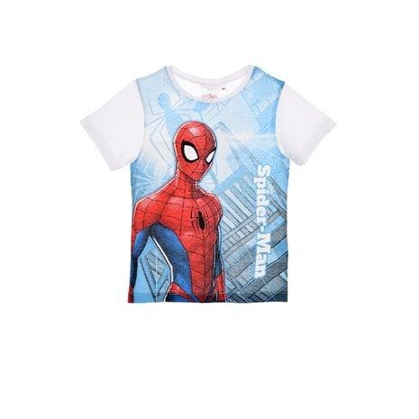 Tricou maneca scurta alba Spiderman,6 ani 0
