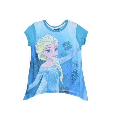 Tricou maneca scurta Frozen, albastru, 5 ani 0