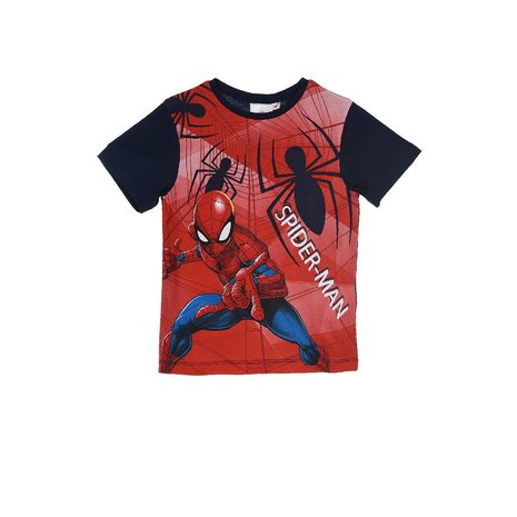 Tricou maneca scurta Spiderman, navy , 8 ani [0]
