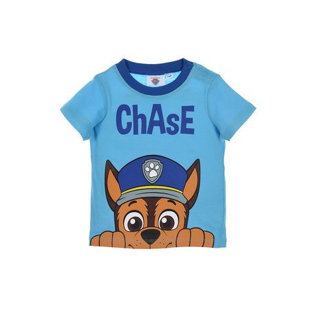 Tricou Paw Patrol Chase,albastru, 6 luni 0