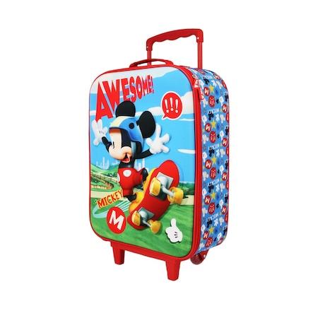 Troler Disney Mickey Mouse Skater 3D, 52x34x17cm 0