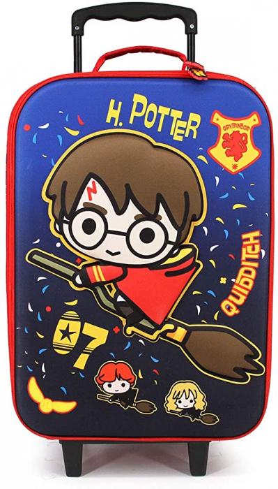 Troler Harry Potter Quidditch 3D, 52x34x17cm 0