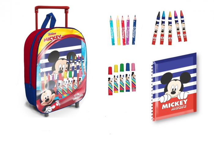 Troler Mickey Mouse+accesorii, 32x27x13 cm [0]