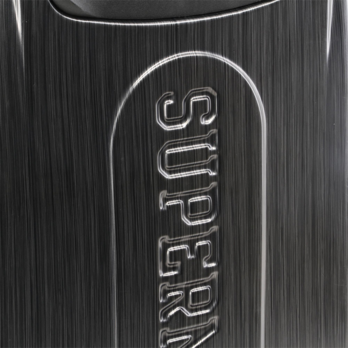 Valiza Troler ABS Superman negru 34x54x22 cm 4