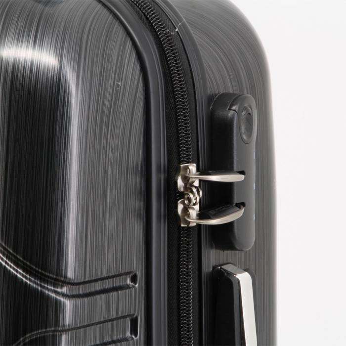Valiza Troler ABS Superman negru 34x54x22 cm 3
