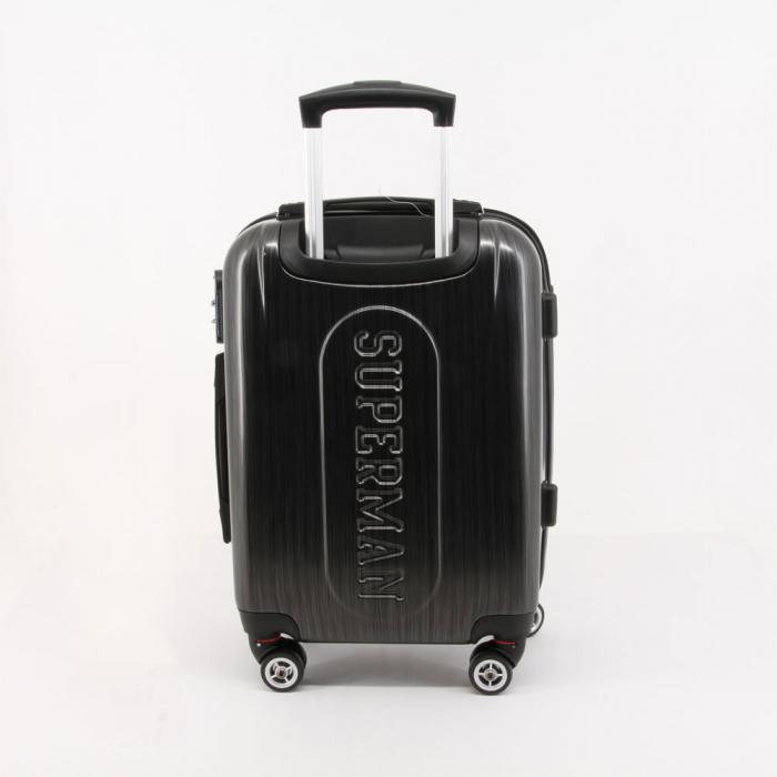 Valiza Troler ABS Superman negru 34x54x22 cm 0