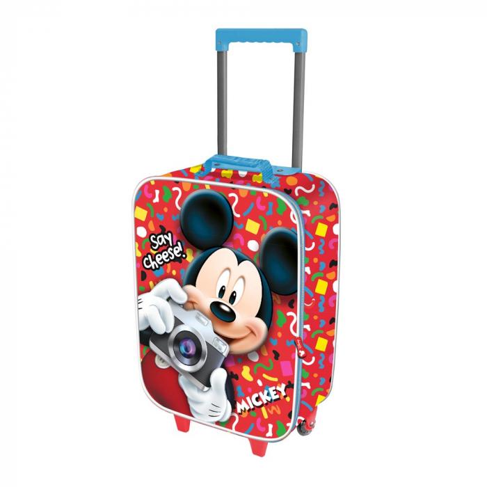 Valiza Troler Mickey Mouse 3D 34x52x17 cm [0]