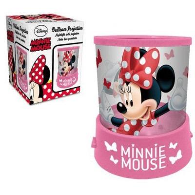 Veioza lampa Minnie Mouse cu proiectie LED 11.5 cm 1