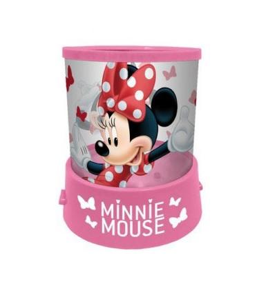 Veioza lampa Minnie Mouse cu proiectie LED 11.5 cm 0
