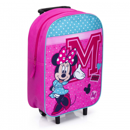 Troler scoala Minnie Mouse 39 cm Live in Style0