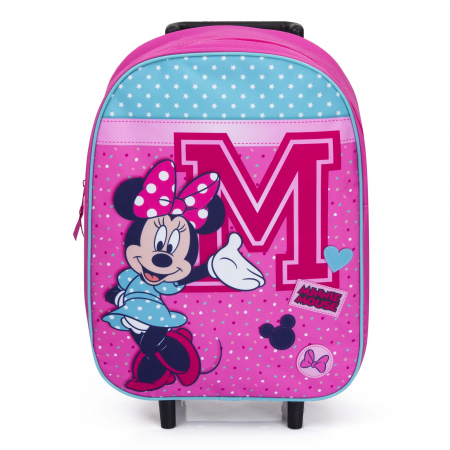 Troler scoala Minnie Mouse 39 cm Live in Style1