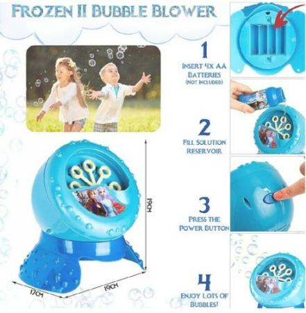 Aparat baloane de sapun Frozen 22