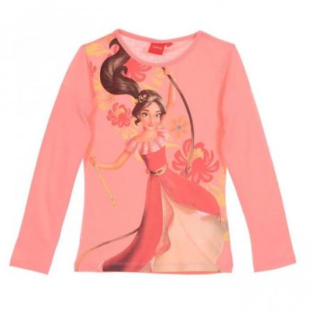 Bluza maneca lunga Elena din Avalor, roz, 4 ani, 104 cm0